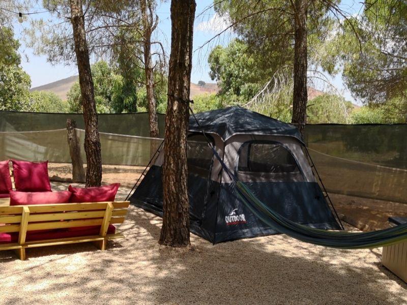 קמפינג בצפון הקמת אוהלים בצפון